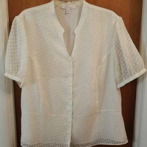 Vintage JM Collection plus size blouse
